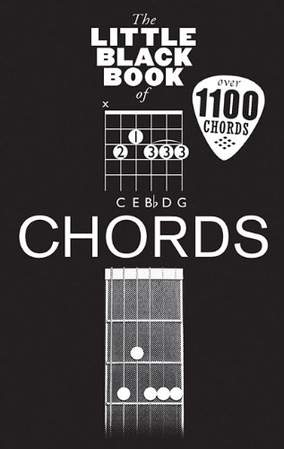 9781480350694: Little Black Book of Chords