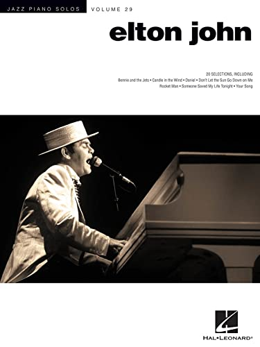 9781480350854: Elton John: Jazz Piano Solo Series Volume 29