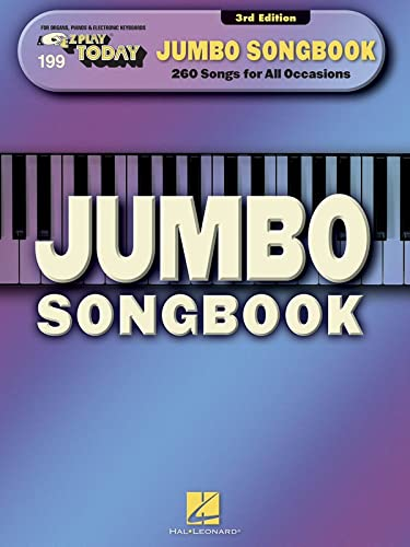 9781480353282: Jumbo Songbook: E-Z Play Today #199
