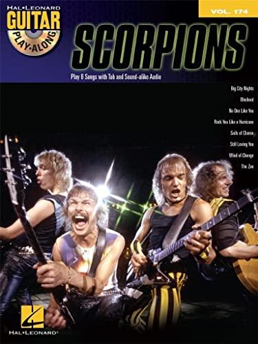 9781480354159: Guitar Play-Along Vol.174 Scorpions + Cd.