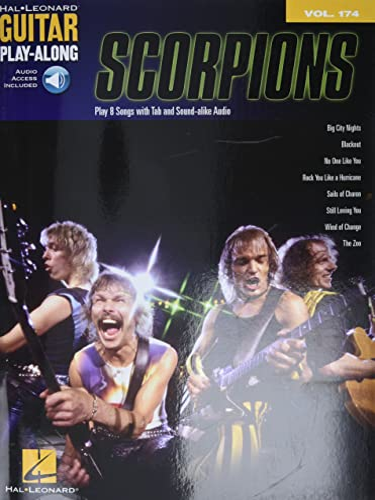 9781480354159: Scorpions: Guitar Play-Along Volume 174 Book & Online Audio
