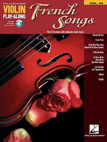 9781480354197: French Songs: Violin Play-Along Volume 44