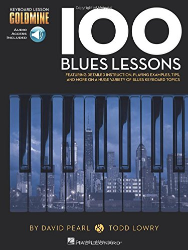 9781480354814: 100 Blues Lessons Keyboard lesson Goldmine Series + 2 CD