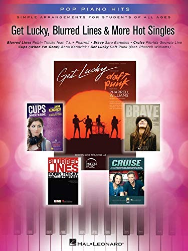 9781480355262: Get Lucky, Blurred Lines & More Hot Singles: Simple Arrangements for Students of All Ages