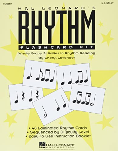9781480355750: Hal Leonard's Rhythm Flashcard Kit