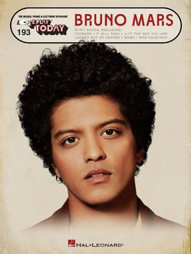 E-Z Play Today: Bruno Mars