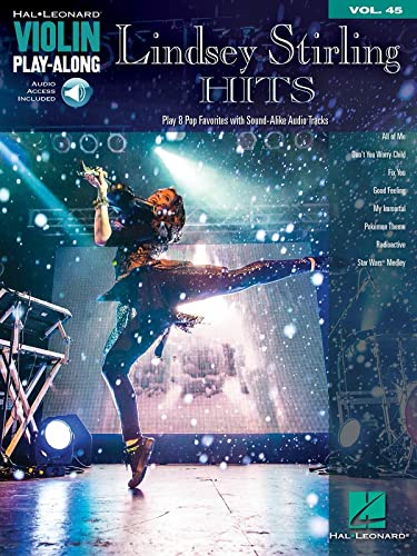 9781480360662: Lindsey Stirling Hits Violin Play-Along Vol. 45 Book Audio Online (Hal Leonard Violin Play-along)