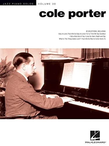 9781480362369: Cole Porter: Jazz Piano Solos Series Volume 30