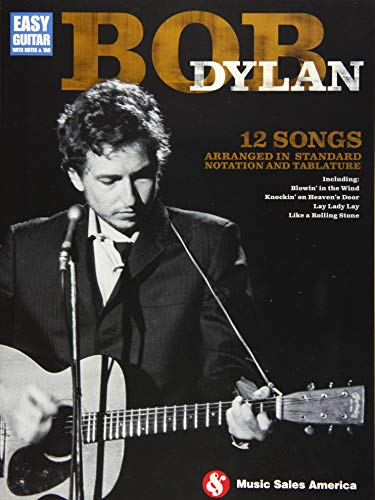 9781480364059: Bob Dylan - Easy Guitar: Easy Guitar with Notes & Tab