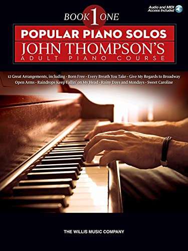 Popular Piano Solos: Thompson, John (Liverpool Business School UK)