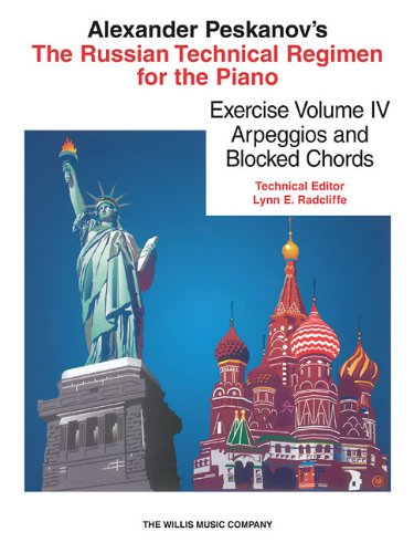 9781480369542: RUSSIAN TECHNICAL REGIMEN FOR PIANO VOLUME 4 ARPEGGIOS AND BLOCK CHORDS