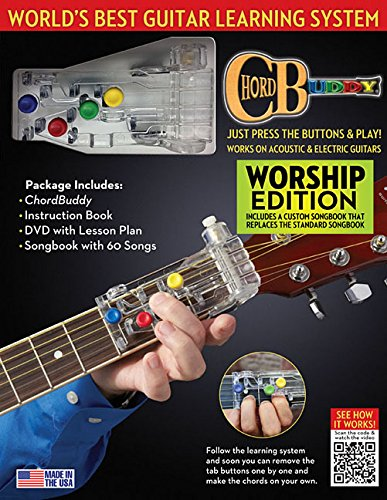 9781480369726: Chordbuddy World's Best Guitar Learning System: Worship Edition