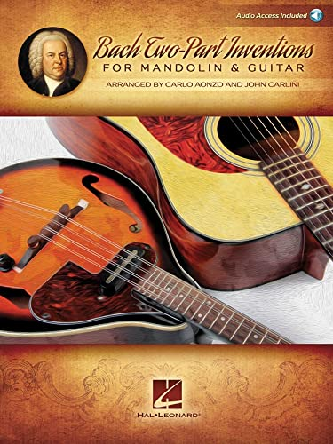 Bach Two-Part Inventions for Mandolin & Guitar: Audio Access Included!: Aonzo, Carlo; Carlini, ...