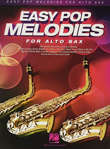 9781480384309: Easy Pop Melodies: for Alto Sax