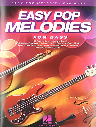 9781480384385: Easy Pop Melodies: For Bass