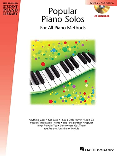 9781480385443: Popular Piano Solos - Level 5: Hal Leonard Student Piano Library