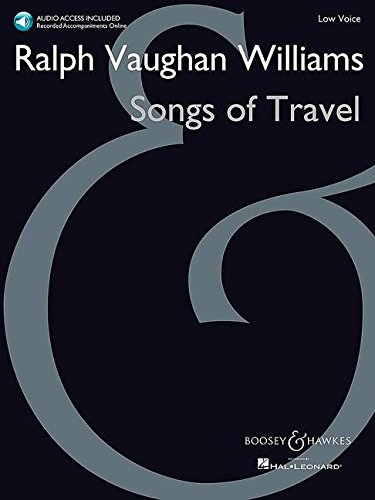9781480386471: Songs of Travel: Low Voice New Edition with Online Audio of Piano Accompaniments