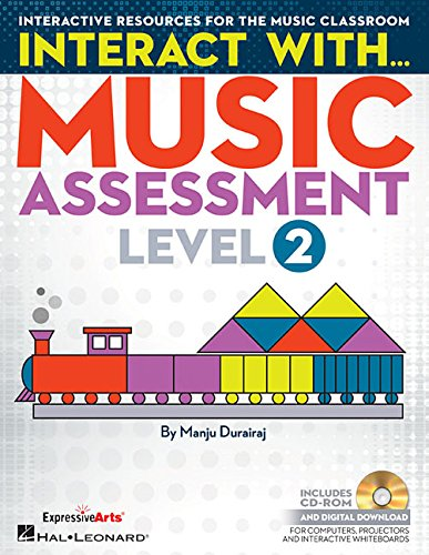 9781480386907: Interact with Music Assessment (Level 2): Interactive Resources for the Music Classroom