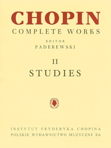 9781480390560: Fryderyk Chopin Complete Works II Studies for Piano