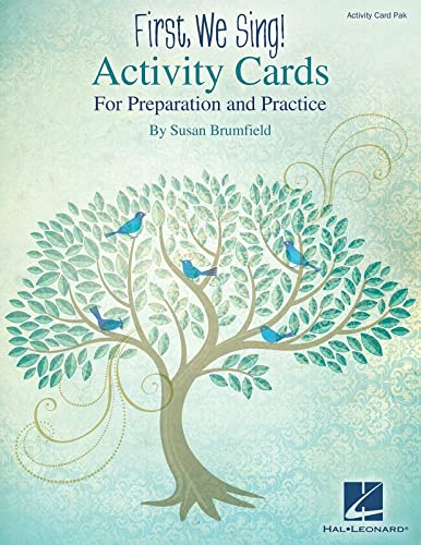 9781480390997: First, We Sing! Activity Cards: For Preparation and Practice