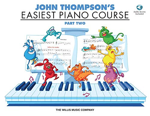 9781480391949: John Thompson's Easiest Piano Course - Part 2 - Book/CD Pack: Part 2 - Book/CD