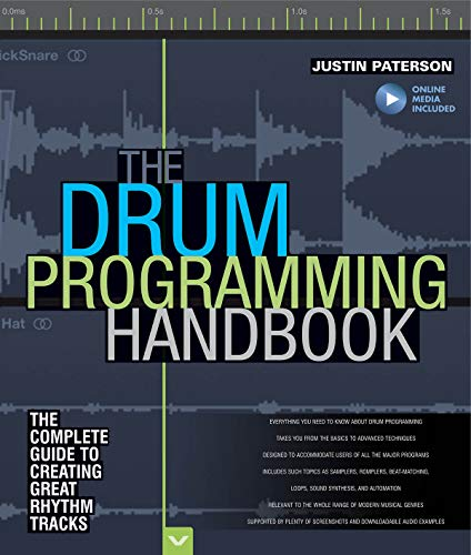 Paterson Justin Drum Programming Hadnbook Complete Guide Bam Bk/Aud: Paterson, Justin