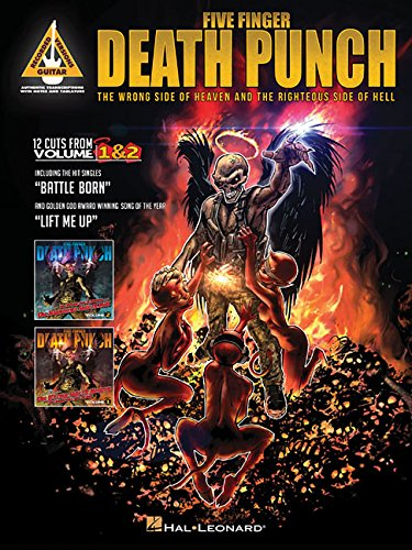 9781480393691: Five Finger Death Punch - The Wrong Side of Heaven and the Righteous Side of Hell (Guitar Recorded Versions)