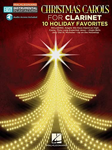 9781480396012: Christmas Carols: Clarinet Easy Instrumental Play-Along Book with Online Audio Tracks (Hal Leonard Easy Instrumental Play-Along)