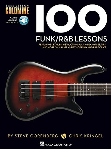 9781480398450: Bass Lesson Goldmine: 100 Funk/R&B Lessons (Book/Online Audio) (Bass Lesson Goldmine Series)