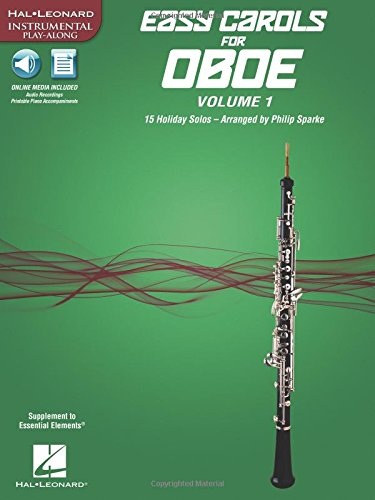 Easy Carols for Oboe, Vol. 1: 15 Holiday Solos