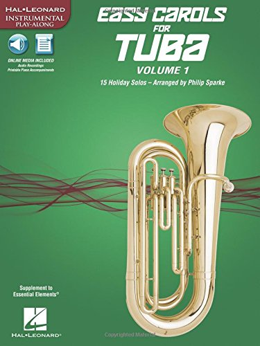 Easy Carols for Tuba, Vol. 1: 15 Holiday Solos (Paperback)