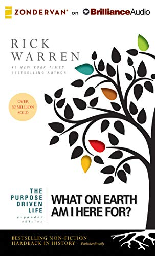 9781480554900: The Purpose Driven Life: What on Earth Am I Here For?