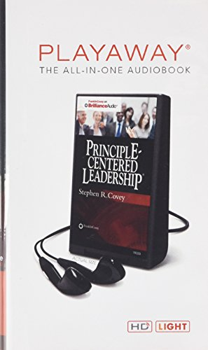 9781480560918: Principle-Centered Leadership