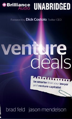 9781480563926: Venture Deals: Be Smarter than Your Lawyer and Venture Capitalist