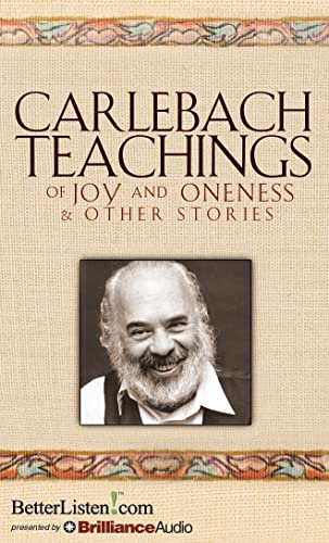 9781480574106: Carlebach Teachings of Joy and Oneness & Other Stories