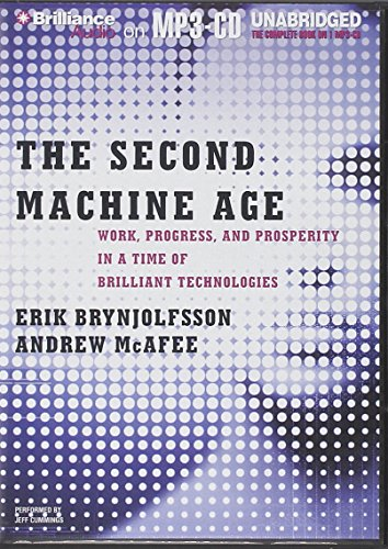 9781480577473: The Second Machine Age: Work, Progress, and Prosperity in a Time of Brilliant Technologies