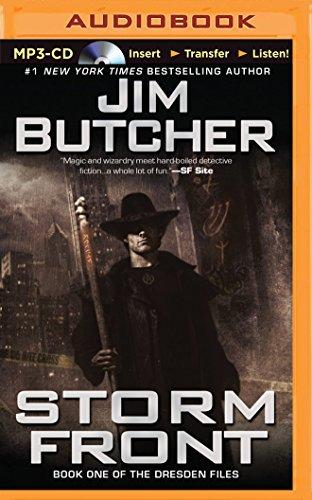 Storm Front: Butcher, Jim/ Marsters,