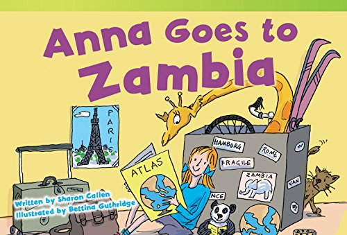 9781480711518: Anna Goes to Zambia (Read! Explore! Imagine! Fiction Readers)