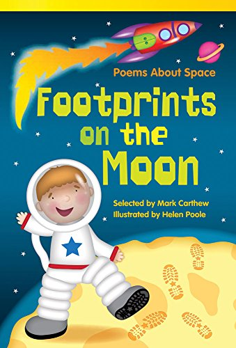 9781480717091: Footprints on the Moon: Poems About Space (library bound) (Read! Explore! Imagine! Fiction Readers)