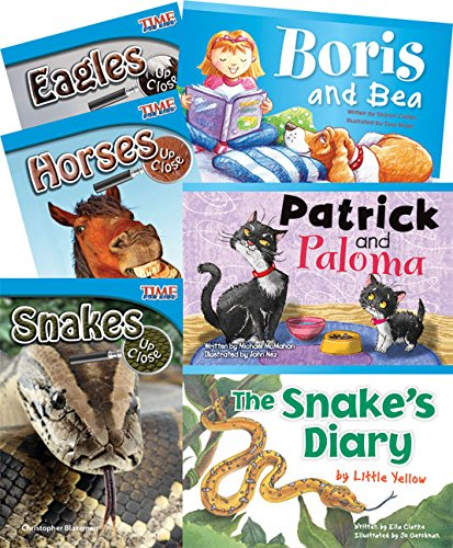 9781480722132: Animal Species 6-Book Set (Classroom Library Collections)
