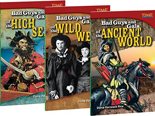 9781480722422: Time for Kids Nonfiction Readers Bad Guys and Gals Set (Teacher Created Materials Library Set)
