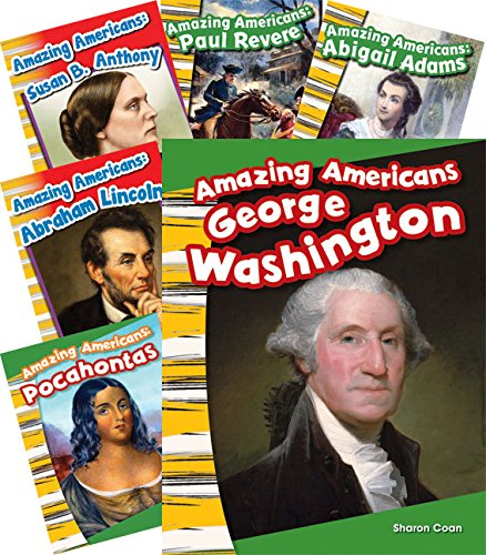 9781480726024: Amazing Americans! 6-Book Set (Social Studies Readers)