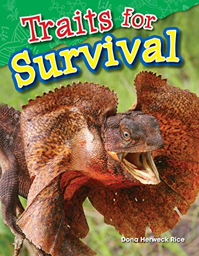 9781480746398: Traits for Survival (Science Readers: Content and Literacy)