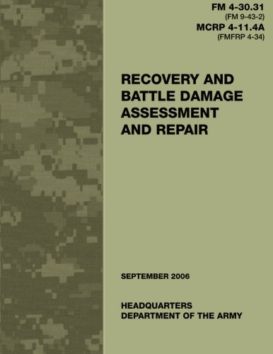 Recovery and Battle Damage Assessment and Repair: Army, Department of
