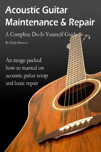 9781481029094: Acoustic Guitar Maintenance and Repair: A Complete Do-It-Yourself Guide