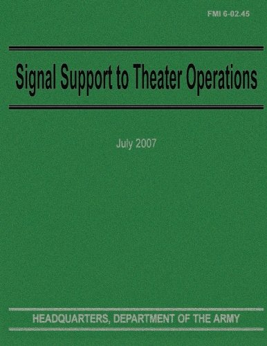 Signal Support to Theater Operations (Fmi 6-02.45): Department of the