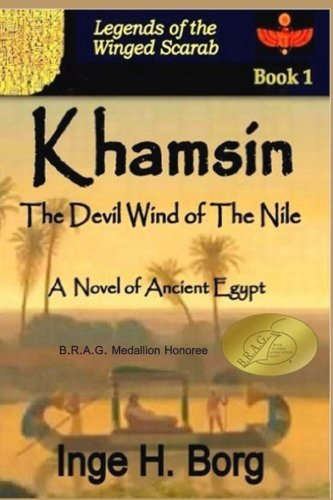 9781481041959: Khamsin: The Devil Wind of the Nile (Legends of the Winged Scarab)