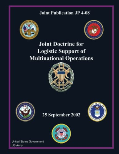 Joint Publication Jp 4-08 Joint Doctrine for: Us Army, United
