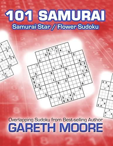 9781481107938: Samurai Star / Flower Sudoku: 101 Samurai