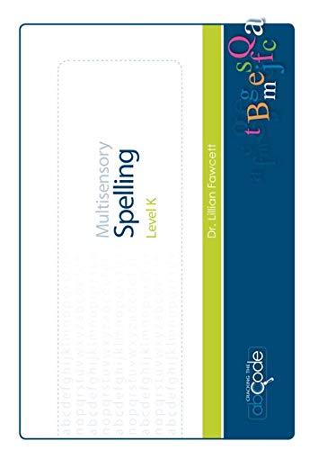 9781481109543: Multisensory Spelling Level K: American Version